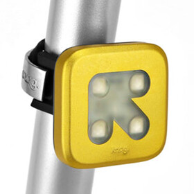 Knog Blinder 4 rode LED, Arrow, gold